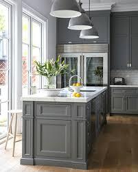 15 Stunning Gray Kitchens Kitchens Grey Kitchen Cabinets