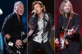 Metallica Rolling Stones Tom Petty Top 2017 Rock Album Charts