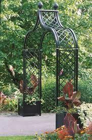 victorian rose arch brighton garden