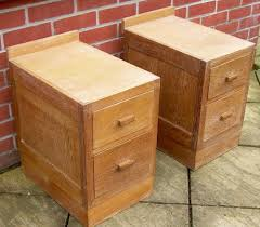 Limed Oak Bedroom Furniture A Pair Of Heals Limed Oak Bedside Cabinets Antiques Atlas