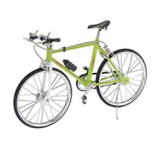 Details About 1 10 Simulated Alloy Racing Bike Model Road Bicycle Showcase Decor Green A