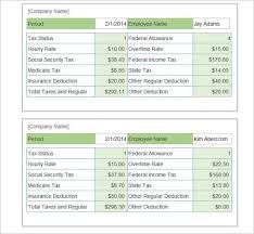 Year To Date Paycheck Calculator 62 Free Pay Stub Templates Downloads Word Excel Pdf Doc