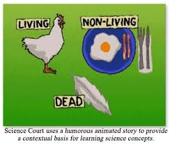 10/8-10/13: Science Court- Living, Dead, and Non Living   Science 6 at FMS
