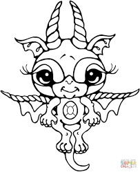 Baby Dragon Coloring Pages Dragon Coloring Pages Free Coloring ...