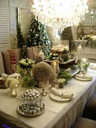 centerpieces with chandelier and chic chairs for home decoration ideas