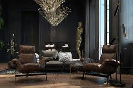 Dramatic And Black Historical Apartment In Paris | Lipstick Alley