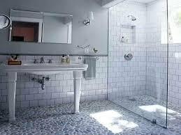 beveled subway tile how to subway tile shower how to install beveled subway tile beveled subway tile bathrooms