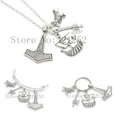 whole viking necklace history geek ship thor s hammer tho gift for him nerd necklace bracelet keyring diamond pendant necklaces pendants for necklaces