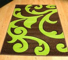 green and brown rug brown and green rugs modern style rugs damask brown green x brown