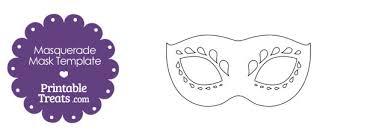 Decorative Masquerade Masks Decorative Masquerade Mask Template Printable Treats 57