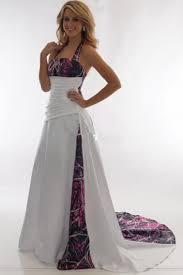 halter muddy girl camouflage wedding dresses 2017 camo bridal