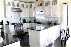 Small Picture Dark Wood Kitchen Cabinets With White Appliances Modern Cabinets