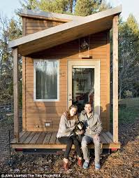 tiny house project. he, his girlfriend anjali and their dog anya moved into the tiny house that he project