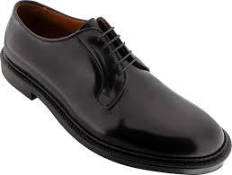 Alden Shoe Size Chart Alden Mens 9901 Plain Toe Blucher Black Shell Cordovan