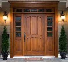 wooden front doorSolid Wood Front Doors Are Good For A Private House  Door Design