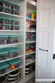 organized games playroom closet toy storage