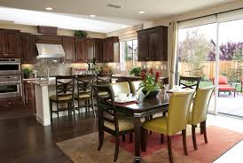 Dining Room And Kitchen Kitchen Dining Room Ideas Entrancing And Living To Area Home And