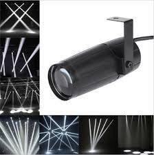 10w led pinspot dj stage lighting mirror ball spotlight dance ktv party lights