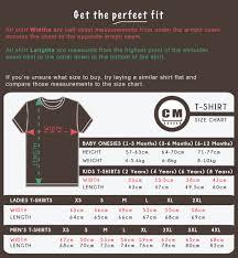 Online Shirt Size Chart South Africas Online T Shirt Shop Size Chart Otcshop
