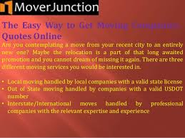 Moving Company Quotes The Easy Way to Get Moving Companies Quotes Online 60