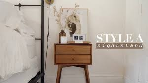 Image Bedroom Nightstand How To Style Nightstand Bedroom Decorating Ideas Jivebikecom Think Positive Think Bedroom How To Style Nightstand Bedroom Decorating Ideas Youtube