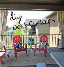 Diy Drop Cloth Curtains Diy Outdoor Curtains From Dropcloth Sweet Charli