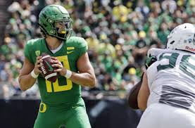 Before He Became Famous Oregons Justin Herbert Threw First