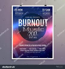 Music Brochure Music Flyer Brochure Poster Template Your Stock Vector 24 18