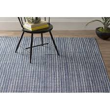 lifetime dash albert rugs and coco hand woven blue indoor outdoor area rug