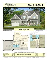 plan 1880 2 the bailey house plans 2 story house plan greater