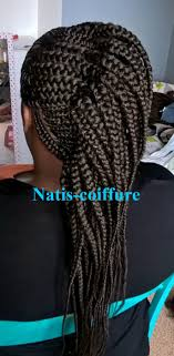 Tresses Cailles Avec Natis Coiffure Youtube