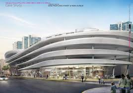 Parking Architecture Design Futuristic Parking Garage Beach Amusing Design Style Likable
