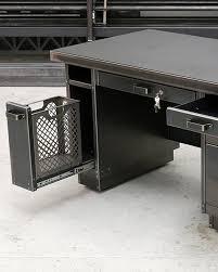 Vintage steel furniture Military Office Industrial Steel And Metal Mesh Desk By Steel Vintage My Warehouse Home Meet The Designer Steel Vintage Warehouse Home