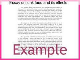 essay on junk food and its effects coursework writing service essay on junk food and its effects