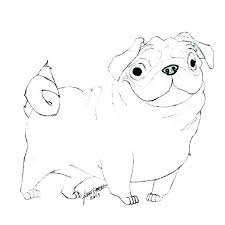 puppy coloring pages for free cute pug coloring pages pug coloring pages pug puppy coloring pages