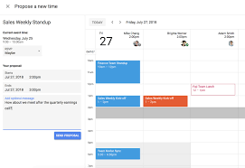 Make A Time Schedule New Time Proposing Feature Makes It Easier To Schedule Meetings In