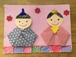 ひな祭り 製作 2 歳児