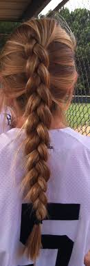 Best 25+ Softball braids ideas on Pinterest | Softball hairstyles ...