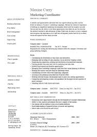 Advertising Assistant Resume Property Management Administrative