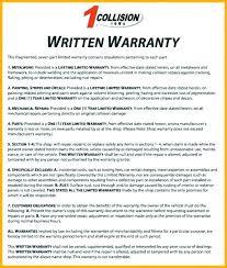 warranty template word warranty certificate claim report template form free download