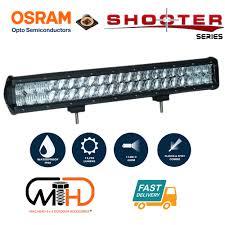 20 Inch Osram Light Bar 20inch Osram Led Light Bar 5d 126w Sopt Flood Combo Beam Work Driving Lamp 4wd