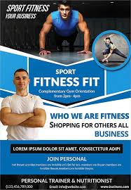 Personal Training Flyers Examples 19 Fitness Flyer Designs Free ...