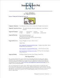 Job Interview Thank You Letter Word Templates At