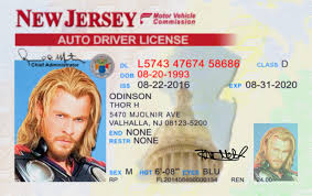 nj Jersey Idviking Id Scannable Ids Drivers License - Fake New Best