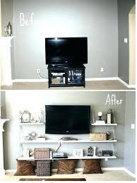 corner tv mount with shelf mount with shelf built corner wall mount with shelf for cable