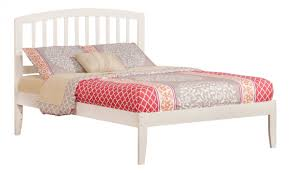 Atlantic Furniture Richmond White Full Open Foot Bed   The Classy Home