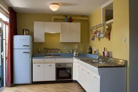 American Kitchen Retro Keuken Idfix Bcl Met Smeg Koelkast American Kitchens