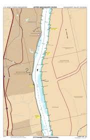 Army Corps Of Engineers Lower Mississippi River Navigation Charts Chart 132 Mississippi River Miles 159 153 Us Army Corps