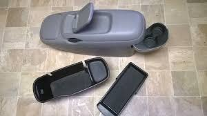 1995 1996 1997 1998 1999 Chevy Suburban Gray Grey Center Console ...