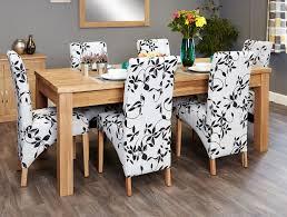 stunning baumhaus mobel. Baumhaus Mobel Oak Extending Dining Set With 6 Upholstered Chairs - 150cm-200cm Stunning A